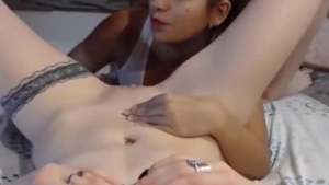 Sensual lesbians are eating each others pussy, while all other guys are waiting to come and fuck cunt
